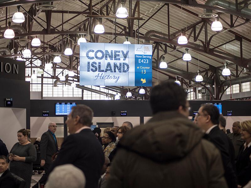 Coney Island DMV Video Wall Installation
